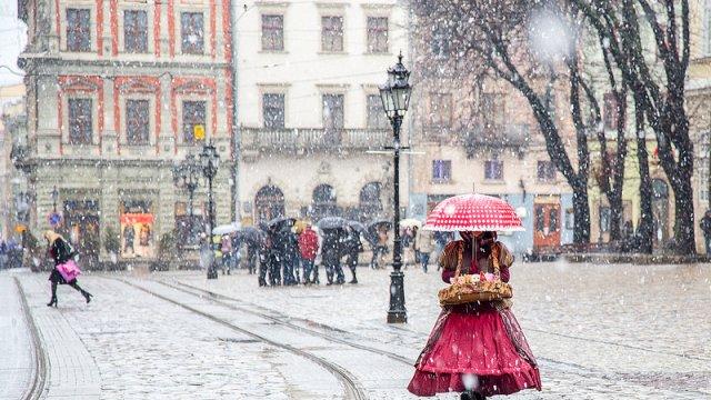 До Львова на вихідних повернеться зима   Цинічний Львів