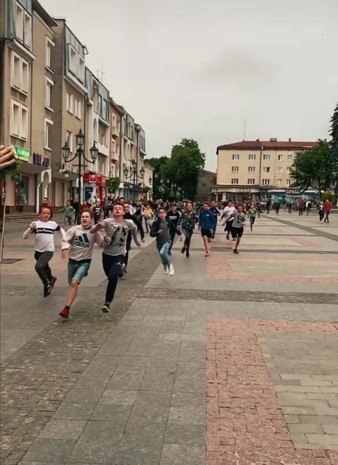 У Дрогобичі сотні підлітків вийшли на квест
