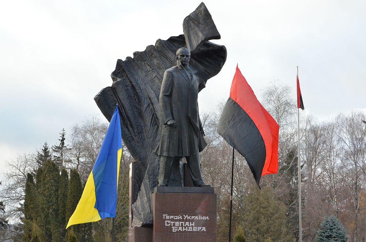 Пам'ятник Бандері у Тернополі